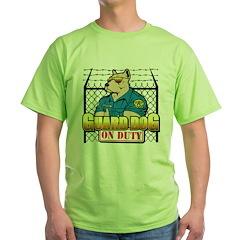 Guard Dog On Duty T-Shirt