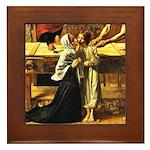 Holy Family Framed Tile