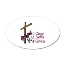 4 Given Wall Decal