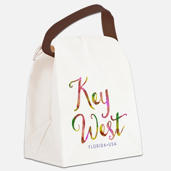 Key West - Canvas Lunch Bag