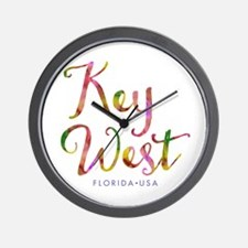 Key West - Wall Clock