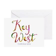 Key West - Greeting Card