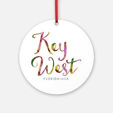 Key West - Ornament (Round)