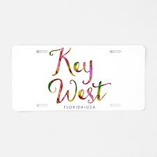 Key West - Aluminum License Plate