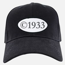 Copyright 1933-Gar gray Baseball Hat