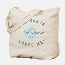 Someone In Arkansas Tote Bag