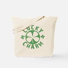 Lucky Charm 4 Leaf Clover Tote Bag