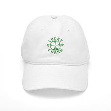 Lucky Charm 4 Leaf Clover Baseball Cap