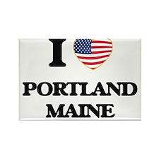 I love Portland Maine Magnets