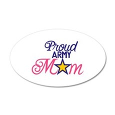 Proud Army Mom Wall Decal