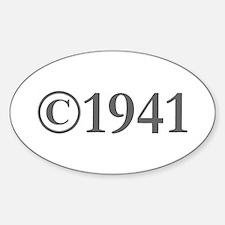 Copyright 1941-Gar gray Decal