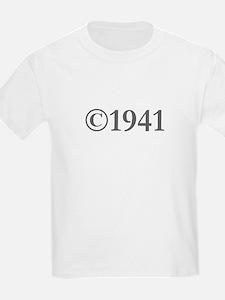 Copyright 1941-Gar gray T-Shirt