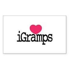 I Love Gramps Decal