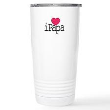 I Love Papa Travel Mug