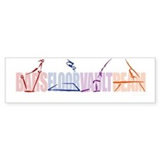 Gymnastic Events Bumper Stickers