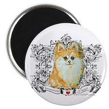 "Pomeranian 2.25"" Magnet (10 pack)"