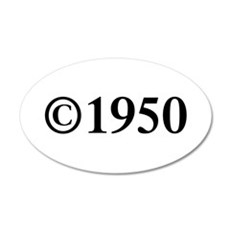 Copyright 1950-Tim black Wall Decal