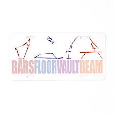 Women's Gymnastics Aluminum License Plate