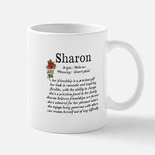Sharon Name Meaning Design Mugs