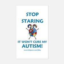 Autism Stare Rectangle Decal