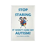 Autism Stare Rectangle Magnet (10 pack)