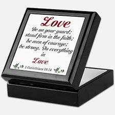 Love Design Keepsake Box