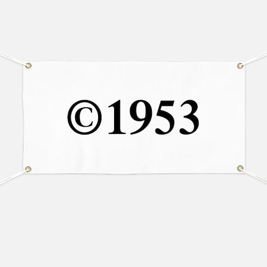 Copyright 1953-Tim black Banner