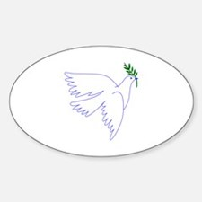 Dove Olive Branch Decal