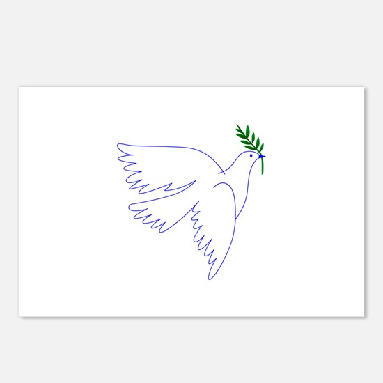 Dove Olive Branch Postcards (Package of 8)