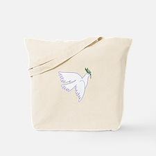 Dove Olive Branch Tote Bag