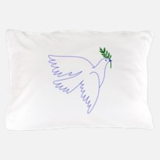 Dove Olive Branch Pillow Case