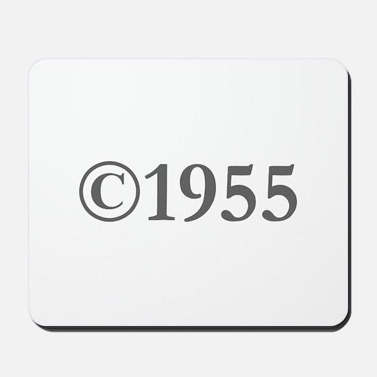 Copyright 1955-Gar gray Mousepad
