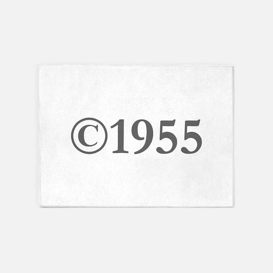 Copyright 1955-Gar gray 5'x7'Area Rug