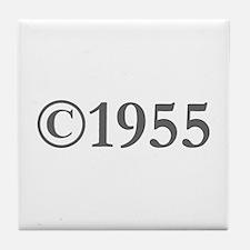 Copyright 1955-Gar gray Tile Coaster