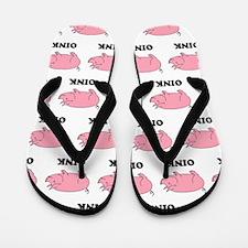 Oink Oink Flip Flops