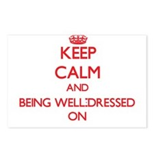 Keep Calm and Being Well- Postcards (Package of 8)