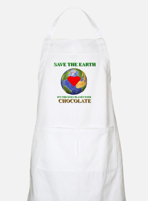 Earth Chocolate BBQ Apron