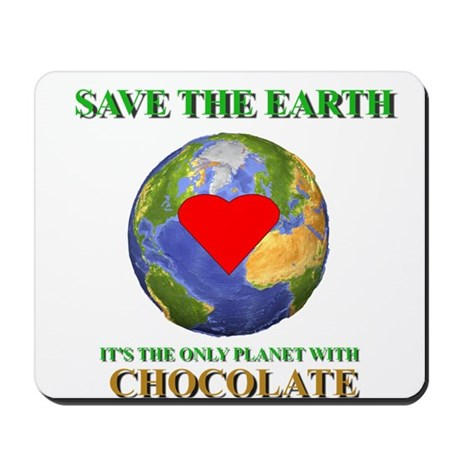 Earth Chocolate Mousepad