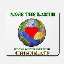 Earth Chocolate Mousepad