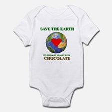 Earth Chocolate Infant Bodysuit