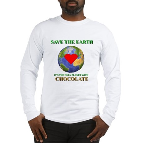 Earth Chocolate Long Sleeve T-Shirt