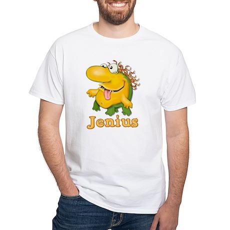Jenius White T-Shirt