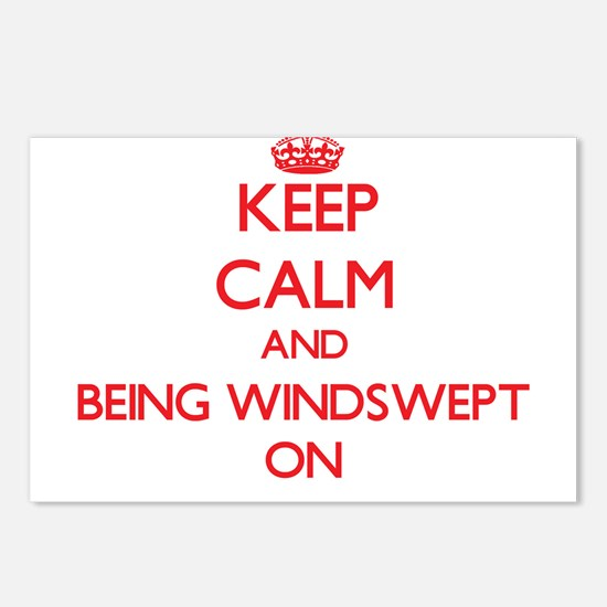 Keep Calm and Being Winds Postcards (Package of 8)