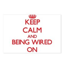 Keep Calm and Being Wired Postcards (Package of 8)