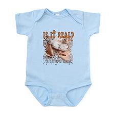 Is It Real? Infant Bodysuit