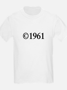 Copyright 1961-Tim black T-Shirt