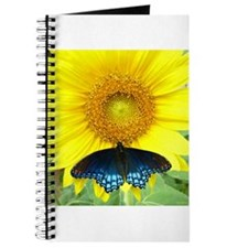 Sunflower Butterfly Journal