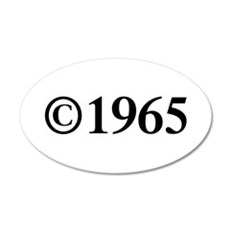 Copyright 1965-Tim black Wall Decal