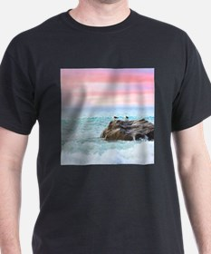 Seagulls at Sunrise T-Shirt