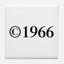 Copyright 1966-Tim black Tile Coaster